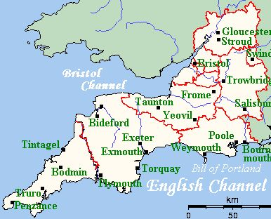 Motorhome Must See Places: West Country – Part 1