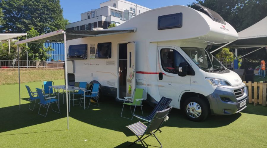 Camperfun, supporting local charities